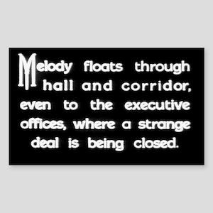 """Strange Deal"" Title Rectangle Sticker"