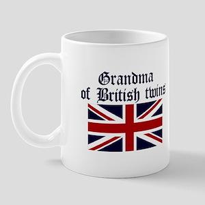 British Twins-Grandma Mug