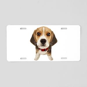 Beagle004 Aluminum License Plate