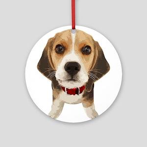 Beagle004 Ornament (Round)