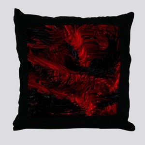impressive moments full of color-red black Throw P