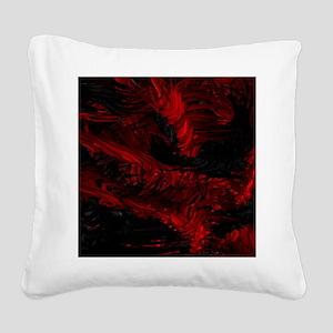 impressive moments full of color-red black Square