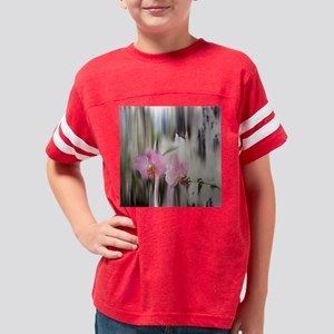Orchids and Dragonflies Youth Football Shirt