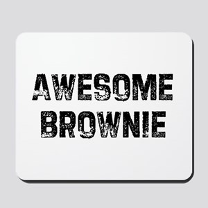 Awesome Brownie Mousepad