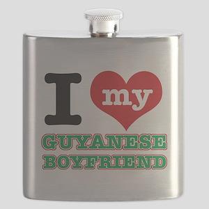 I love my Guyanese Boyfriend Flask