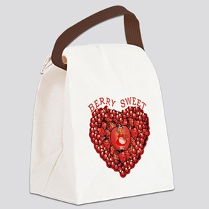 Berry Sweet Canvas Lunch Bag