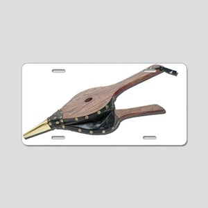 OpenBellows073011 Aluminum License Plate