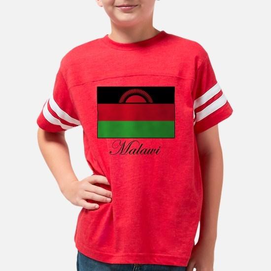 malawi_word Youth Football Shirt
