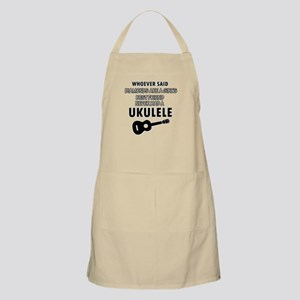 Ukulele Design better than Diamonds Apron