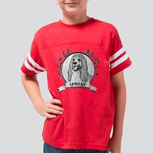 dogcrest_afghanwhite Youth Football Shirt