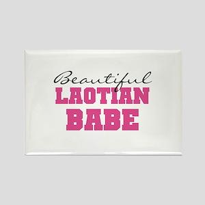 Laotian Babe Rectangle Magnet