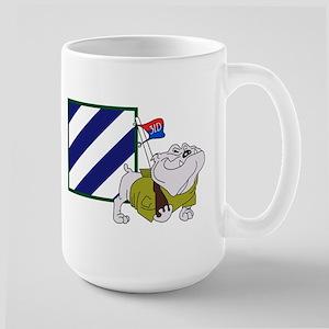 Rocky Bulldog Front/Back - Large Mug
