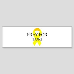 Pray for Tori Bumper Sticker