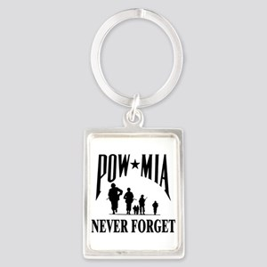POW-NEVER FORGET-2- Keychains