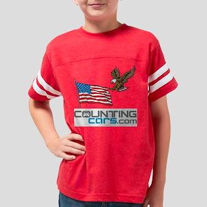 Counting Cars Americana Youth Football Shirt