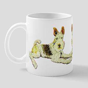 Squirrel Alert Fox Terrier Mug