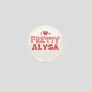 Alysa Mini Button