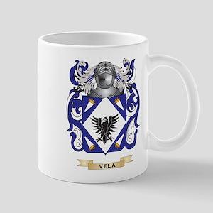 Vela Family Crest (Coat of Arms) Mugs
