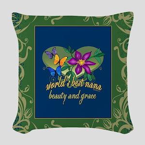 Blanket jeweltone greenblue nana Woven Throw P