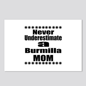 Never Underestimate Burmi Postcards (Package of 8)