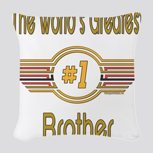 GREENbrother Woven Throw Pillow