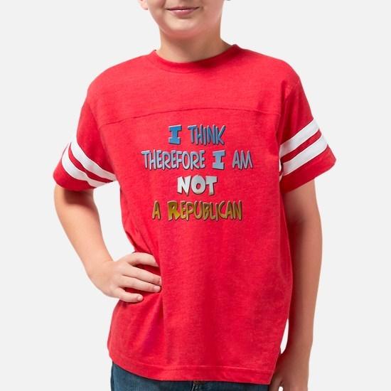 3-0000 10x10 rep for dark Youth Football Shirt