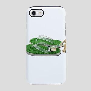 MowingGrassSandals073011 iPhone 7 Tough Case
