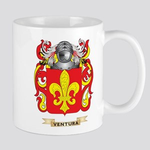 Ventura Family Crest (Coat of Arms) Mugs