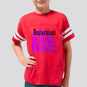 Pink Deutschland T Shirts Youth Football Shirt