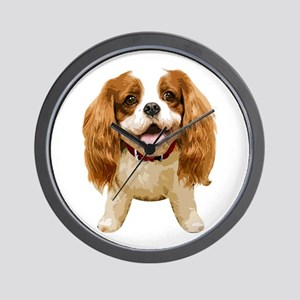 CavalierKingCharlesSpaniel002 Wall Clock