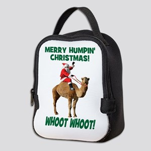 Merry Humpin Christmas Santa Hump Day Camel Neopre
