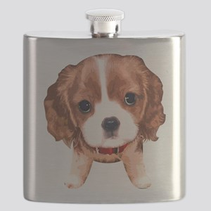 CavalierKingCharlesSpaniel003 Flask
