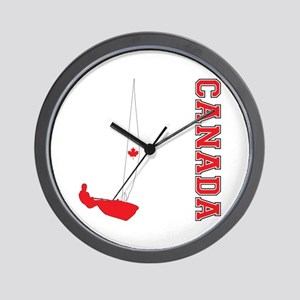 Sailing Canada Wall Clock