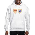 Zionist Crusader Hooded Sweatshirt