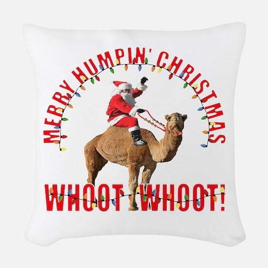 Merry Humpin Christmas Santa and Hump Day Camel Wo