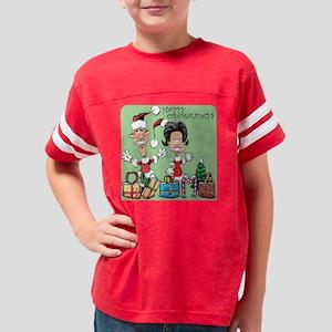 gifts-obamalidays6x6-g n Youth Football Shirt