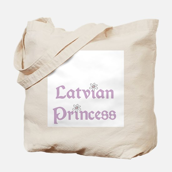 Latvian Princess Tote Bag
