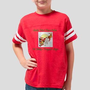 Santa And Reindeer Youth Football Shirt