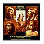 Beautiful Native Tile Coaster