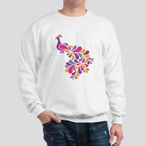 Colorful Bird Sweatshirt