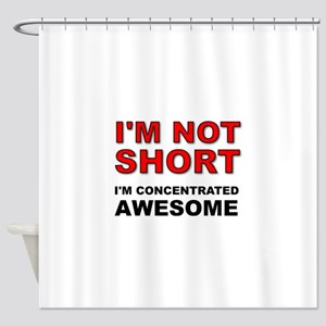 Not Short Concentrated Awesome Shower Curtain