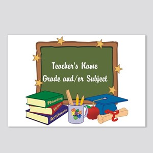 Custom Teacher Postcards (Package of 8)