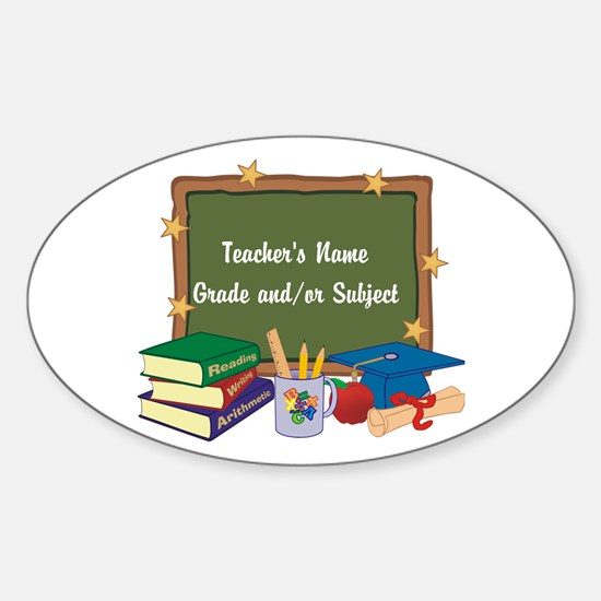 Custom Teacher Decal