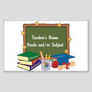 Custom Teacher Sticker