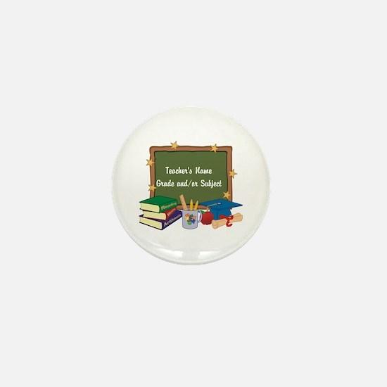 Custom Teacher Mini Button