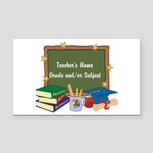 Custom Teacher Rectangle Car Magnet