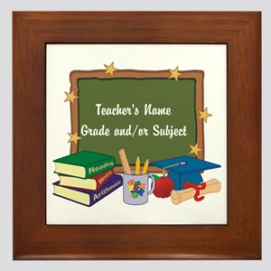 Custom Teacher Framed Tile