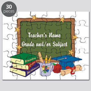 Custom Teacher Puzzle