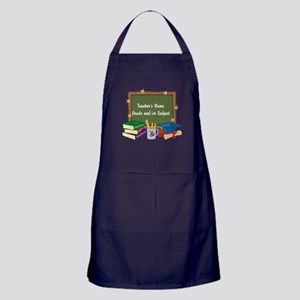 Custom Teacher Apron (dark)
