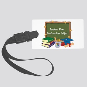 Custom Teacher Luggage Tag